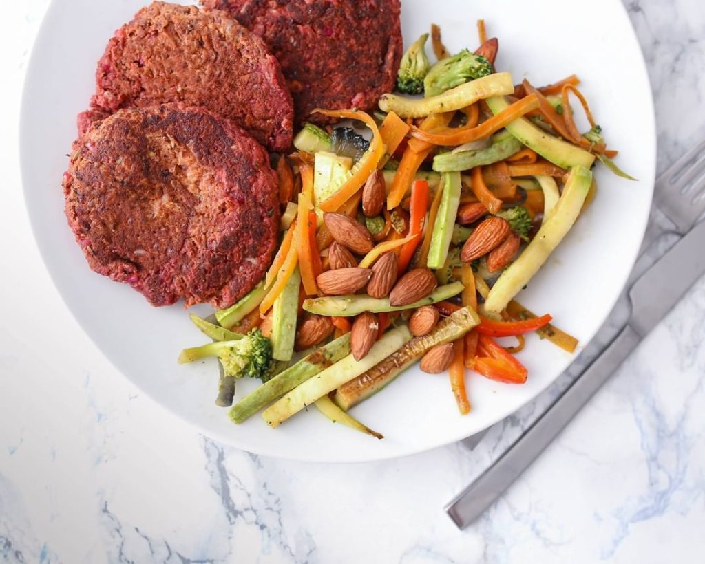 vegan burger fitbar beograd
